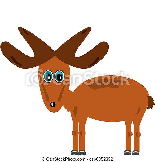 Moose - csp6352332