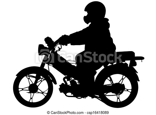 Moped - csp16418089