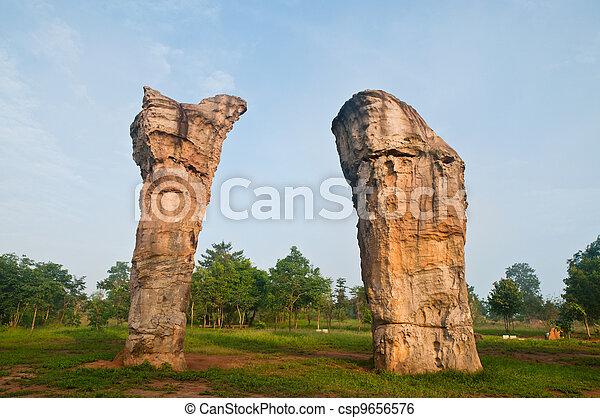 Mor Hin Khao Chaiyaphum,Stonehenge  - csp9656576