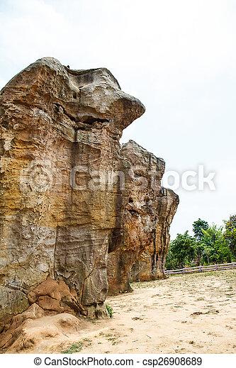 Mor Hin Khao park in Thailand - csp26908689