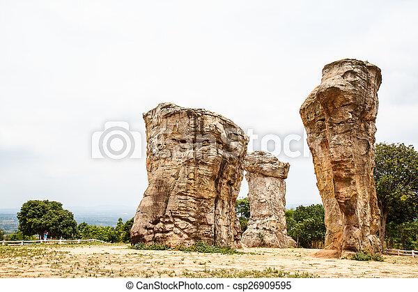 Mor Hin Khao park in Thailand - csp26909595