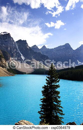 moraine lake - csp0364979