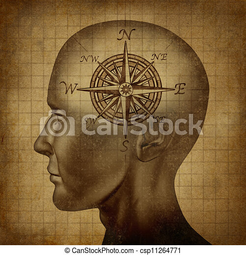 Moral Compass - csp11264771