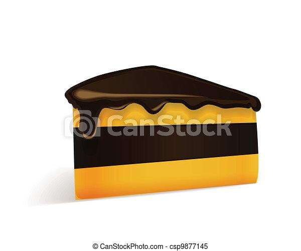 morceau, tarte - csp9877145