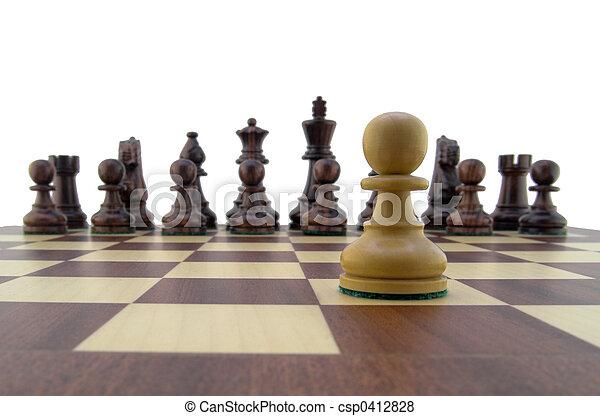 morceaux échecs - csp0412828