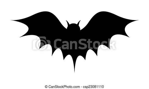 morcego forma desenho morcego silueta abstratos voando dia