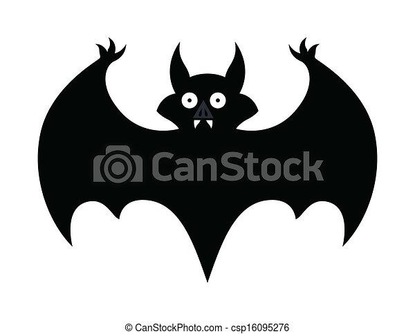 Morcego Halloween Silueta Morcego Arte Dia Das Bruxas