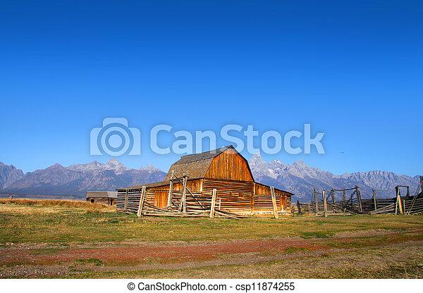 Mormon Barn - csp11874255