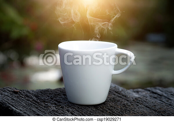 morning coffee - csp19029271