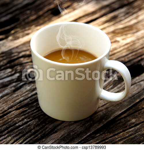 morning coffee. - csp13789993
