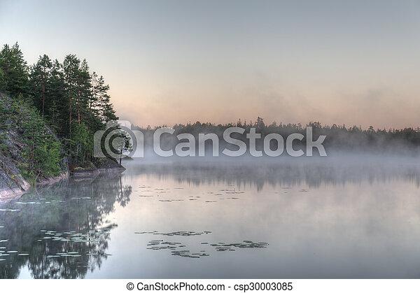 morning fog - csp30003085