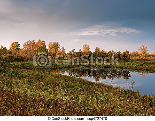 Morning landscape - csp4727470