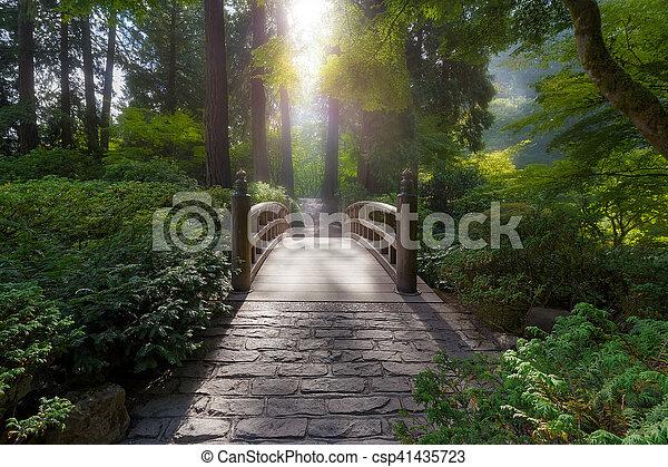 Morning Light on the Bridge - csp41435723