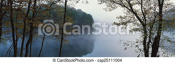 Morning on the lake - csp25111004