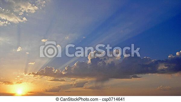 Morning sunrise - csp0714641