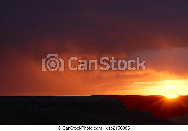 Morning sunrise - csp2156085