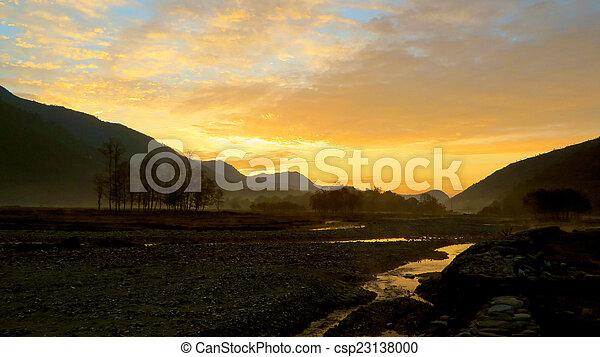 Morning Sunrise - csp23138000