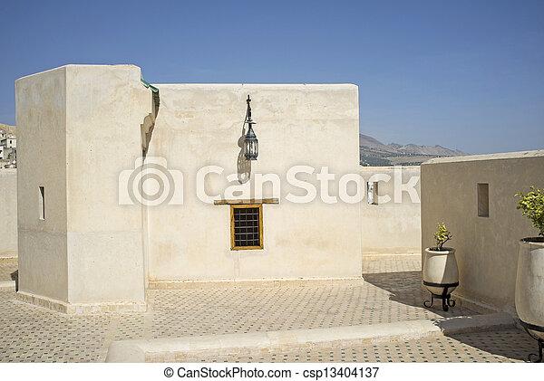 Moroccan architecture - csp13404137