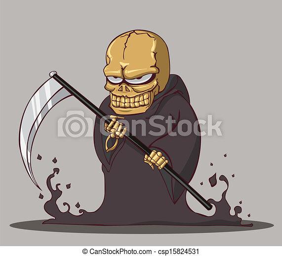 mort, halloween - csp15824531