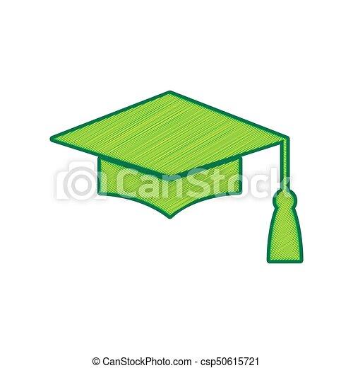 Mortar board or graduation cap aef2aeb50067