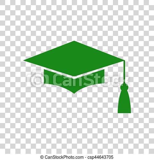 Vector. Mortar Board or Graduation Cap 93cb561f1e1c