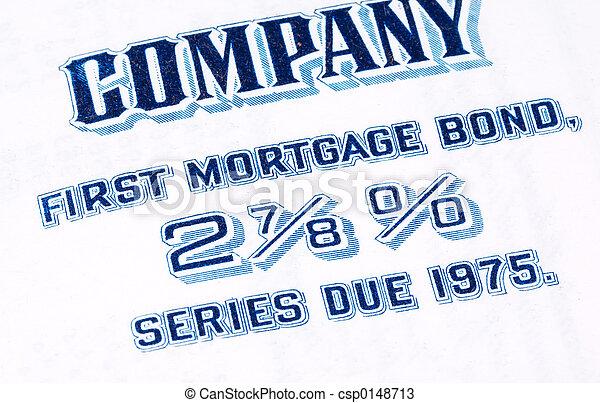 Mortgage Bond - csp0148713