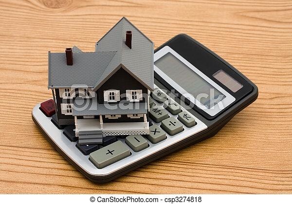 Mortgage Calculator - csp3274818