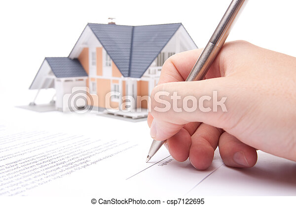 Mortgage contract - csp7122695