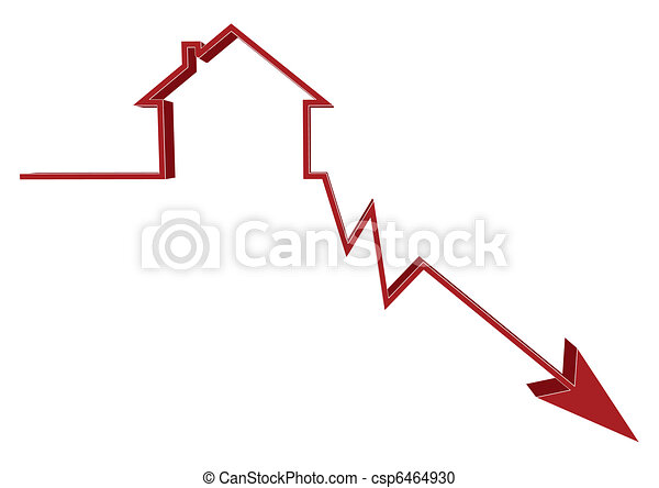 Mortgage Rates Down - csp6464930