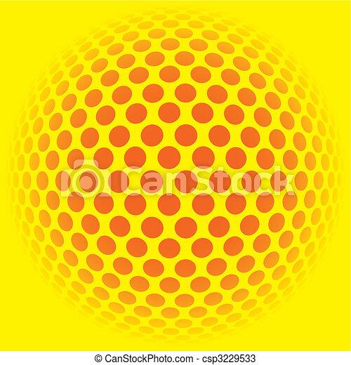 mosaïque, couleurs, fond, illustration, pop - csp3229533