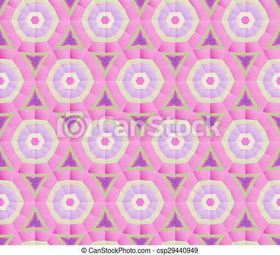 Mosaic Geometric background - csp29440949