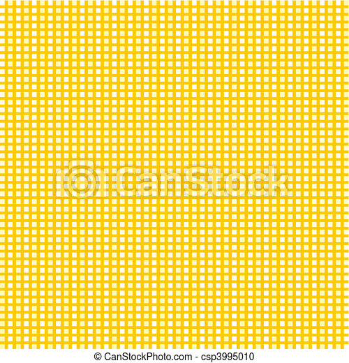 Mosaic structure of a gold shade. A vector illustration - csp3995010