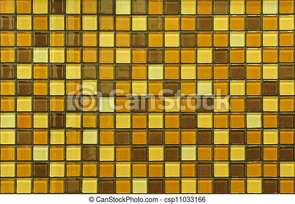Mosaic tile background - csp11033166