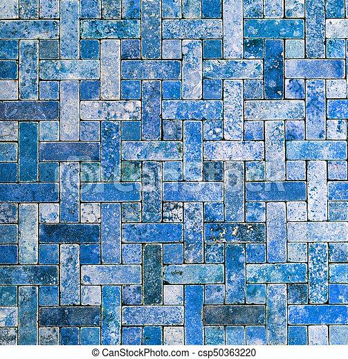 mosaic tile background - csp50363220
