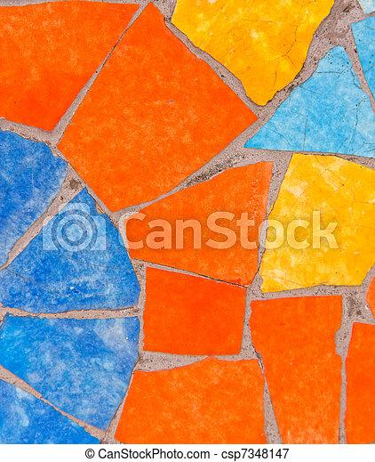 Mosaic tile - csp7348147