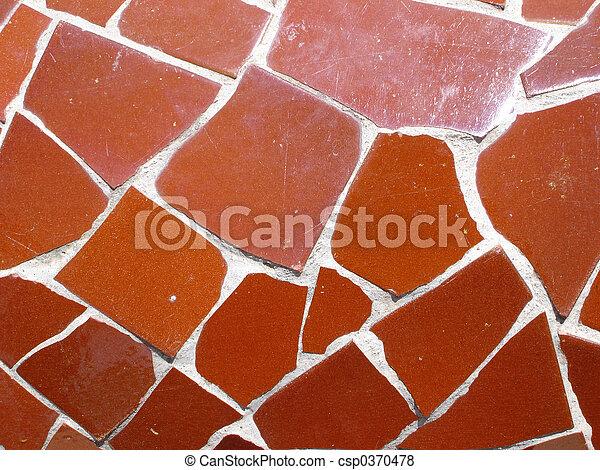 Mosaic tile pieces - csp0370478