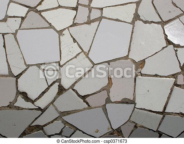 Mosaic tile pieces - csp0371673