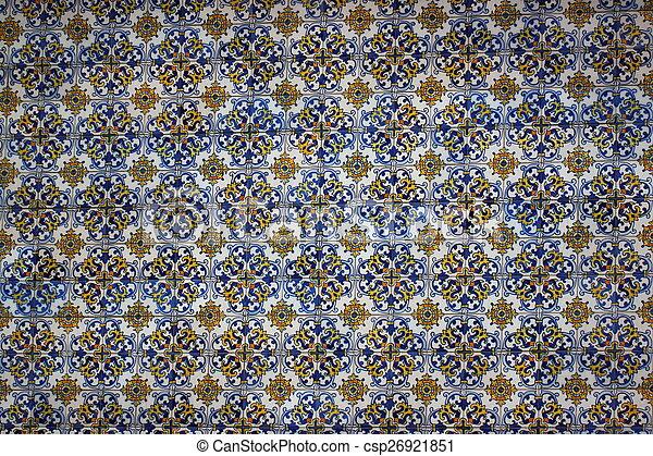 Azulejos cerámicos, - csp26921851