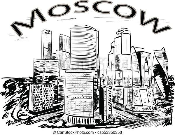 Moscú - csp53350358