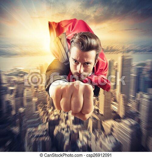 mosche, superhero, più veloce - csp26912091