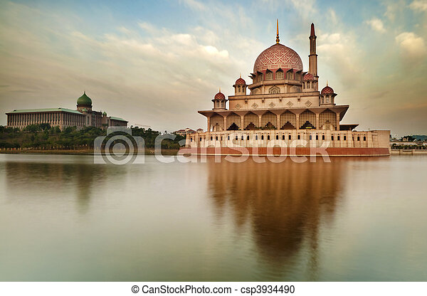 moschea, putra - csp3934490