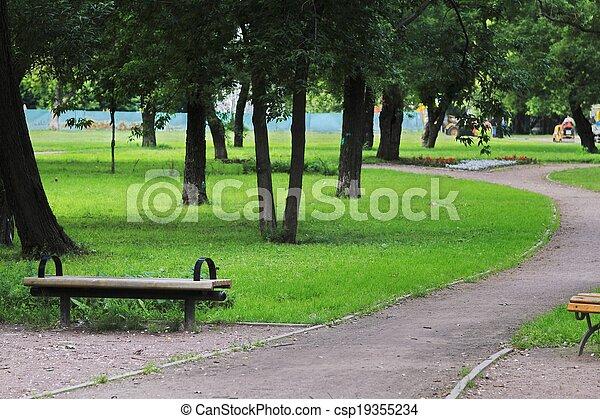Moscow city landscape - csp19355234
