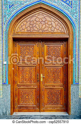 Mosque Door   Csp52557910