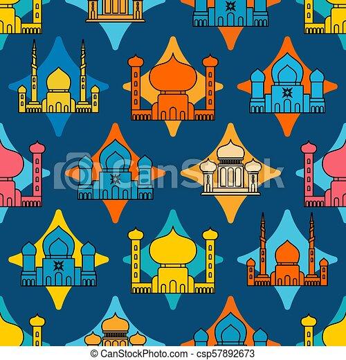 Mosque islamic pattern seamless ramadan kareem greeting card mosque islamic pattern seamless ramadan kareem greeting card background for muslim holiday eid m4hsunfo