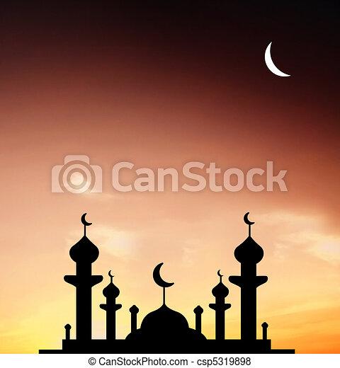 Mosque - csp5319898