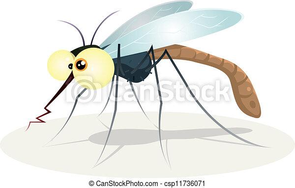Mosquito Character - csp11736071