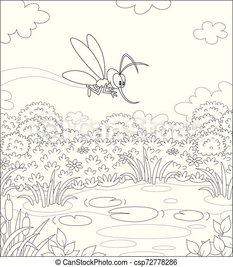 Plague of Lice or Gnats coloring page | Free Printable Coloring ... | 470x409