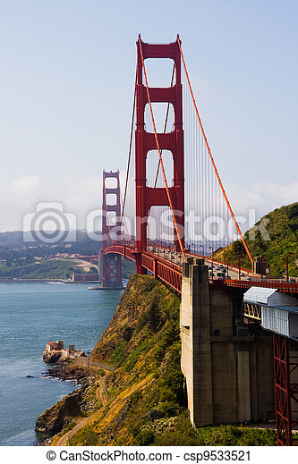 most, brama, złoty - csp9533521