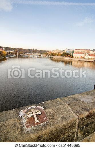 most, charles, krzyż - csp1448695