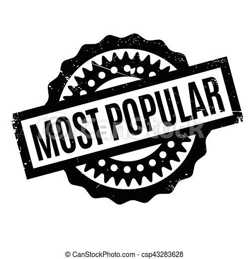 Most Popular rubber stamp - csp43283628